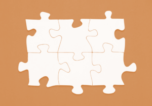 A puzzle without a picture was a great metaphor for making a reactive decision